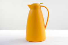 Yellow thermos Royalty Free Stock Images