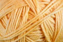 Yellow thread Royalty Free Stock Photo