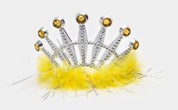 Yellow Tiara Royalty Free Stock Images