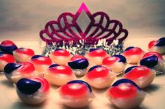 Pink Tiara Stock Photos