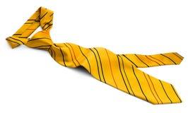 Yellow tie Stock Photo