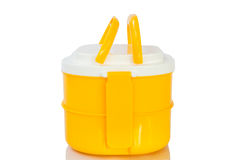 Yellow Tiffin box Royalty Free Stock Photography