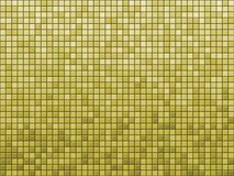 Yellow tile. Background pattern detail Stock Photography