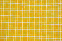 Yellow tile background Royalty Free Stock Photo