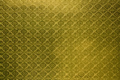 Yellow Tiled Glass Royalty Free Stock Photography