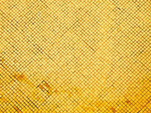 Yellow tiled wall Stock Image