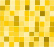 Yellow  tiles background Stock Images