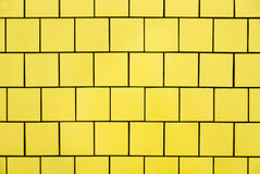 Yellow Tiles Stock Image