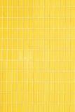 Yellow tiles background Royalty Free Stock Photos