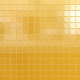 Yellow tiles background Stock Photos