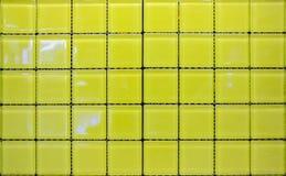 Yellow tiles. Stock Image