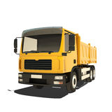 Yellow Tipper Isolated Stock Images