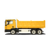 Yellow Tipper Isolated Royalty Free Stock Image