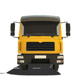 Yellow Tipper Isolated Stock Photography