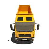 Yellow Tipper Isolated Stock Photo