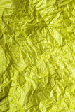 Yellow tissue paper texture for background Stock Photos