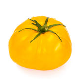 Yellow Tomato Isolated on a White Background royalty free stock images