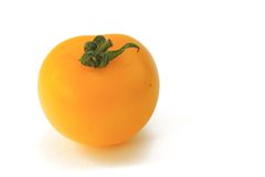 Yellow tomato Stock Photo