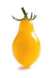 Yellow tomato on white background Royalty Free Stock Image