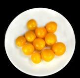 Yellow tomatoes Royalty Free Stock Photos
