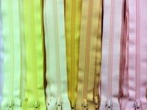 Yellow tone zip background. Royalty Free Stock Photos