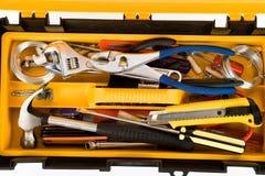 Yellow Toolbox Stock Image