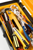Yellow Toolbox Royalty Free Stock Image