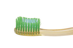 Yellow toothbrush. Stock Photography
