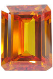 Yellow topaz Stock Images