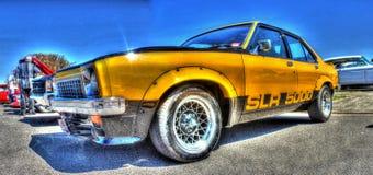 Yellow Torana SLR 5000 Royalty Free Stock Photo