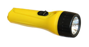 Yellow torch. Royalty Free Stock Photography