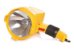Yellow torch Royalty Free Stock Photography