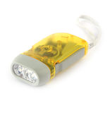 Yellow torchlight Stock Images