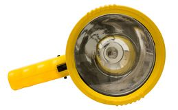 Yellow Torchlight w/ Path Stock Images