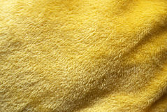 Yellow towel Royalty Free Stock Photography