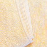 yellow towel Royalty Free Stock Photo