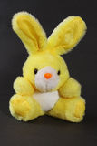 Yellow toy bunny Royalty Free Stock Photo
