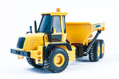 Yellow Toy truck Royalty Free Stock Photos