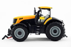 Yellow tractor Stock Photo