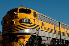 Yellow Train Royalty Free Stock Photography