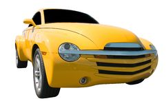 Yellow Truck royalty free stock image