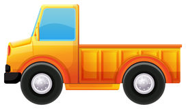 A yellow truck Stock Image