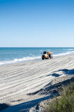 A Yellow Truck Loaded with Sand Royalty Free Stock Photo