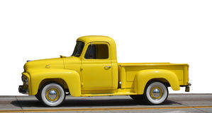 Yellow Truck Model Royalty Free Stock Photos