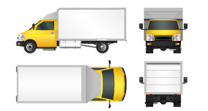 delivery van side isolated cartoon stock illustrations 308