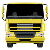 Yellow truck Royalty Free Stock Photo