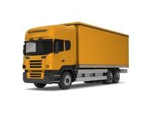 Yellow truck Royalty Free Stock Photos