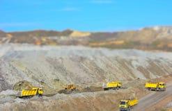 Yellow Trucks Stock Photos