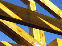Yellow Truss Royalty Free Stock Photos