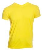 Yellow tshirt isolated Royalty Free Stock Photography